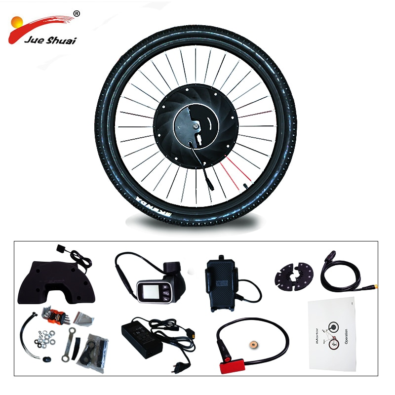 IMortor 3 Kit de conversión de bicicleta eléctrica 36V 350W Motor de...