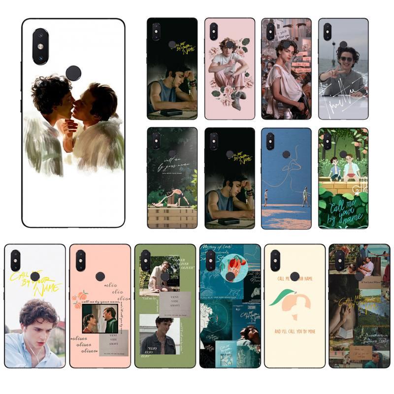 Maiyaca Me llama por su nombre de funda de teléfono para Xiaomi mi5 6 5X 6X Mi9 9SE mi8lite Mi10 Mi10Pro teléfono móvil F1