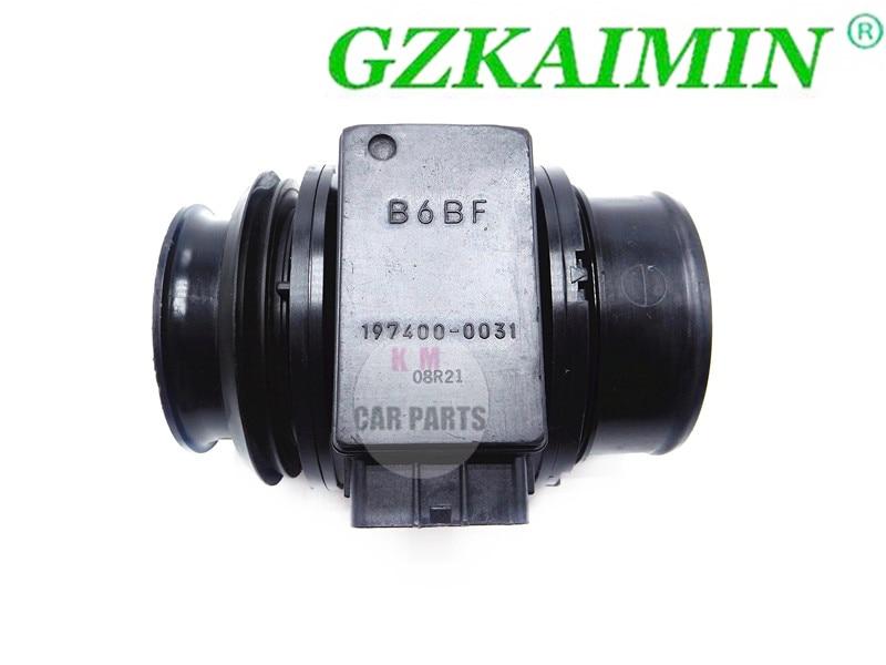 Высокое качество MAFS расходомер воздуха сенсор OEM B6BF-13-215 197400-0031 B6BF13215 для MAZDA 323 MPV MX5