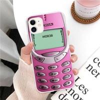 Ретро-чехол для Iphone 11 12Pro Mini, забавный старый ностальгический чехол для Nokia, чехол для мобильного телефона Iphone 5 5s 6 6s 7 8 Plus X XR XS 11 Pro Max