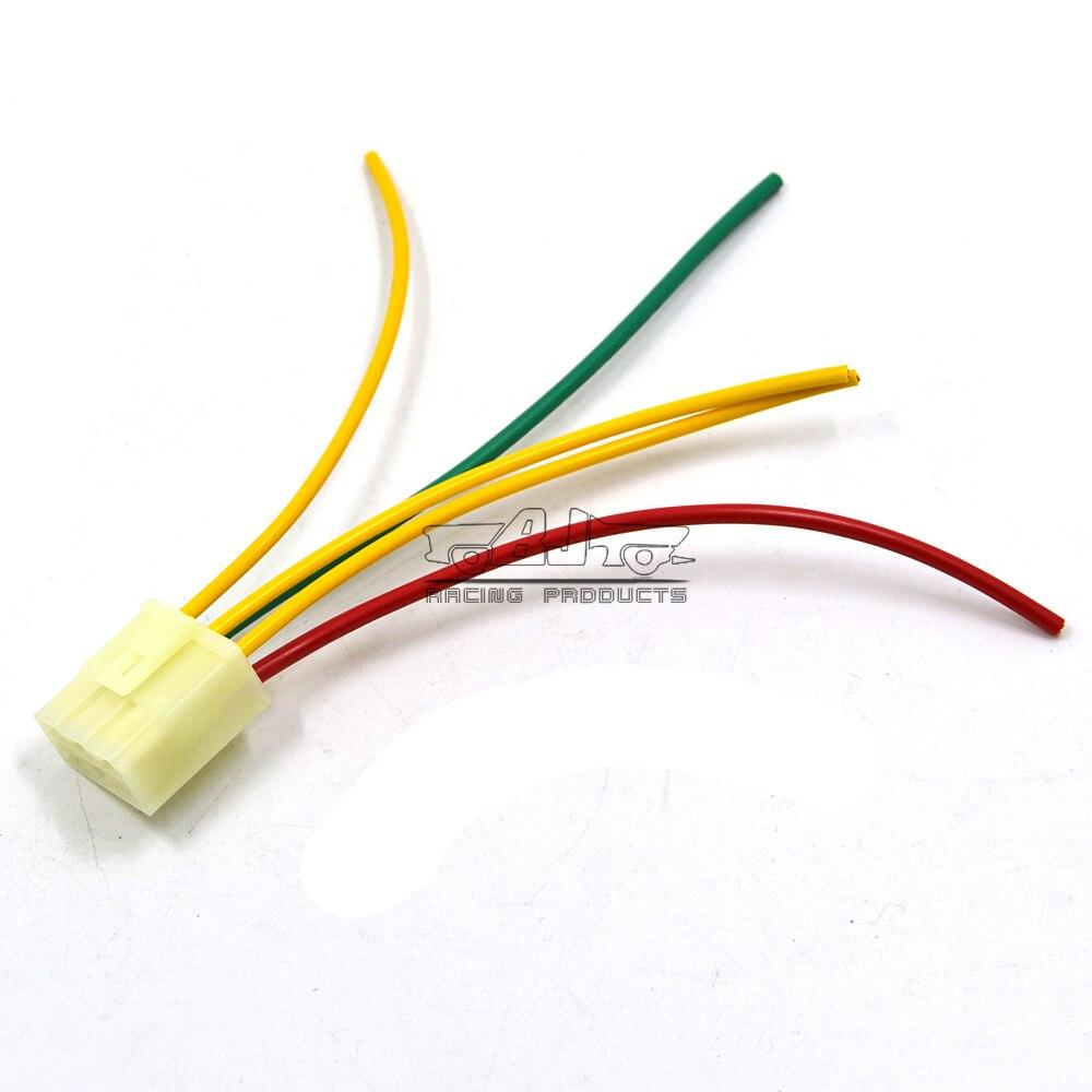 5 alambres regulador de motocicleta rectificador enchufe regulador de voltaje conector macho para Honda VTR250 VTR1000 VT1000F NSR125 RVF400