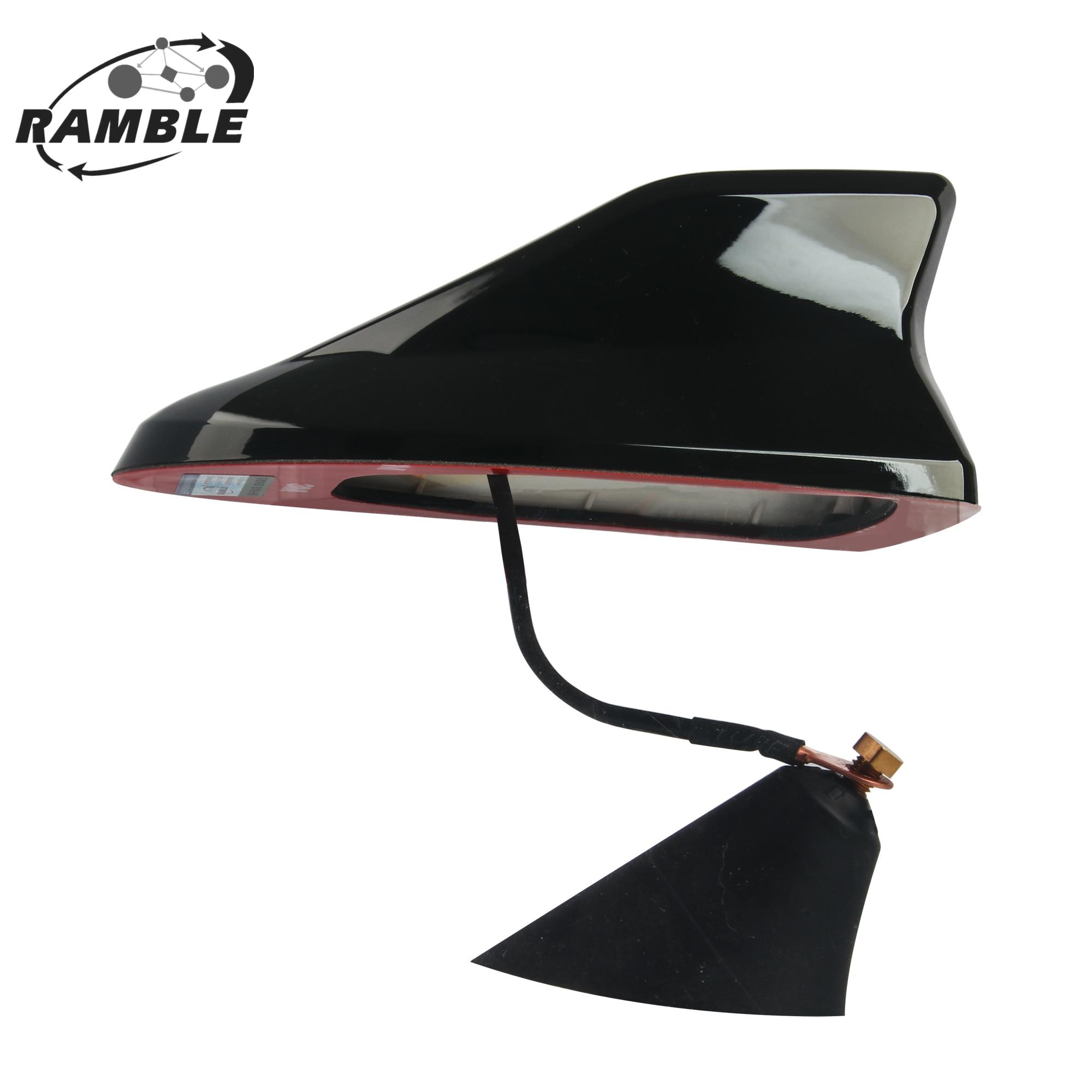 Ramble Kia Forte Replacements Super Shark Fin Antenna Car Radio Aerial Strong Signal Roof Antena Car