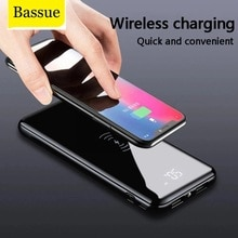 Wireless Charger For iPhone Samsung External Battery Bank Qi Wireless 50000mah Power Bank Built-in C