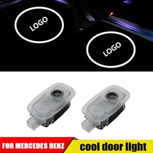 2pcs For Mercedes Benz S w221 s350 s450 s300 s500 s63 s65 amg 2006-2013 Led Car Door Logo Laser Projector Light Accessories