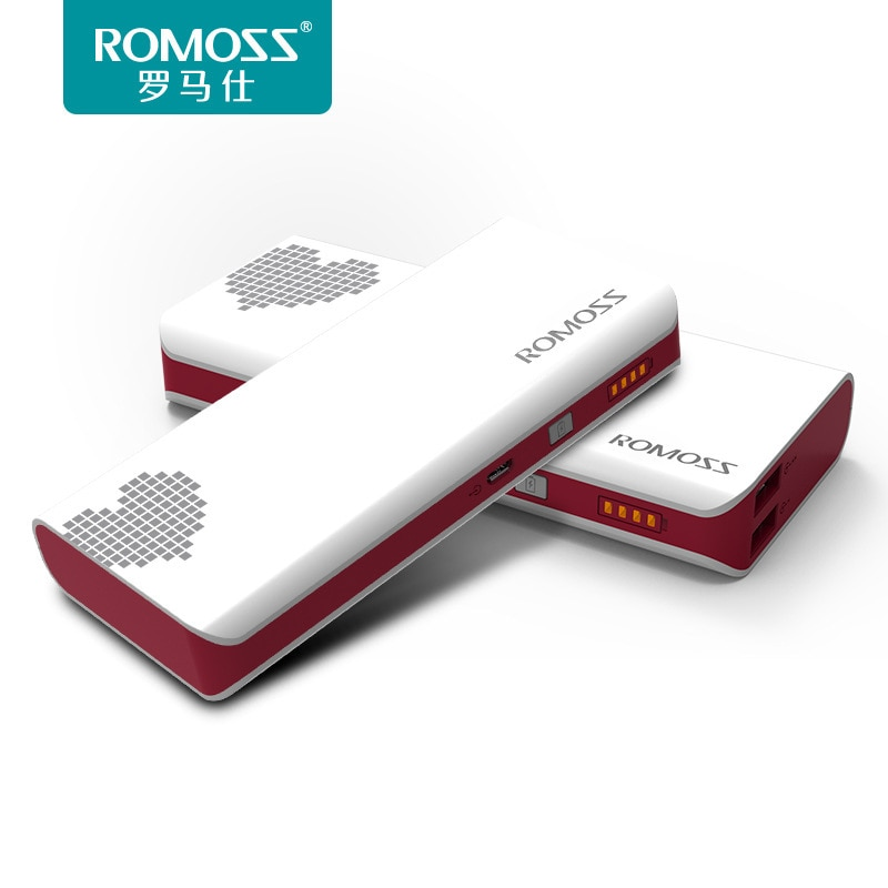 Sense410000mA على شكل قلب 5 فولت USB QC3.0PD 18 واط ليثيوم أيون ليثيوم بوليمر BatteryMobile امدادات الطاقة