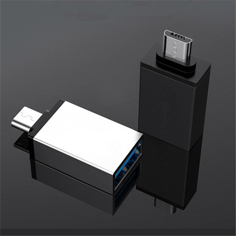 Micro B Port To USB3.0 A Android OTG Adapter Random Color Mobile Phone Tablet PC V8 To USB High-spee