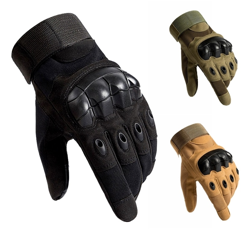 Army Military Tactical Gloves Paintball Airsoft Hunting Shooting Outdoor Riding Fitness Hiking Fingerless/Full Finger Gloves