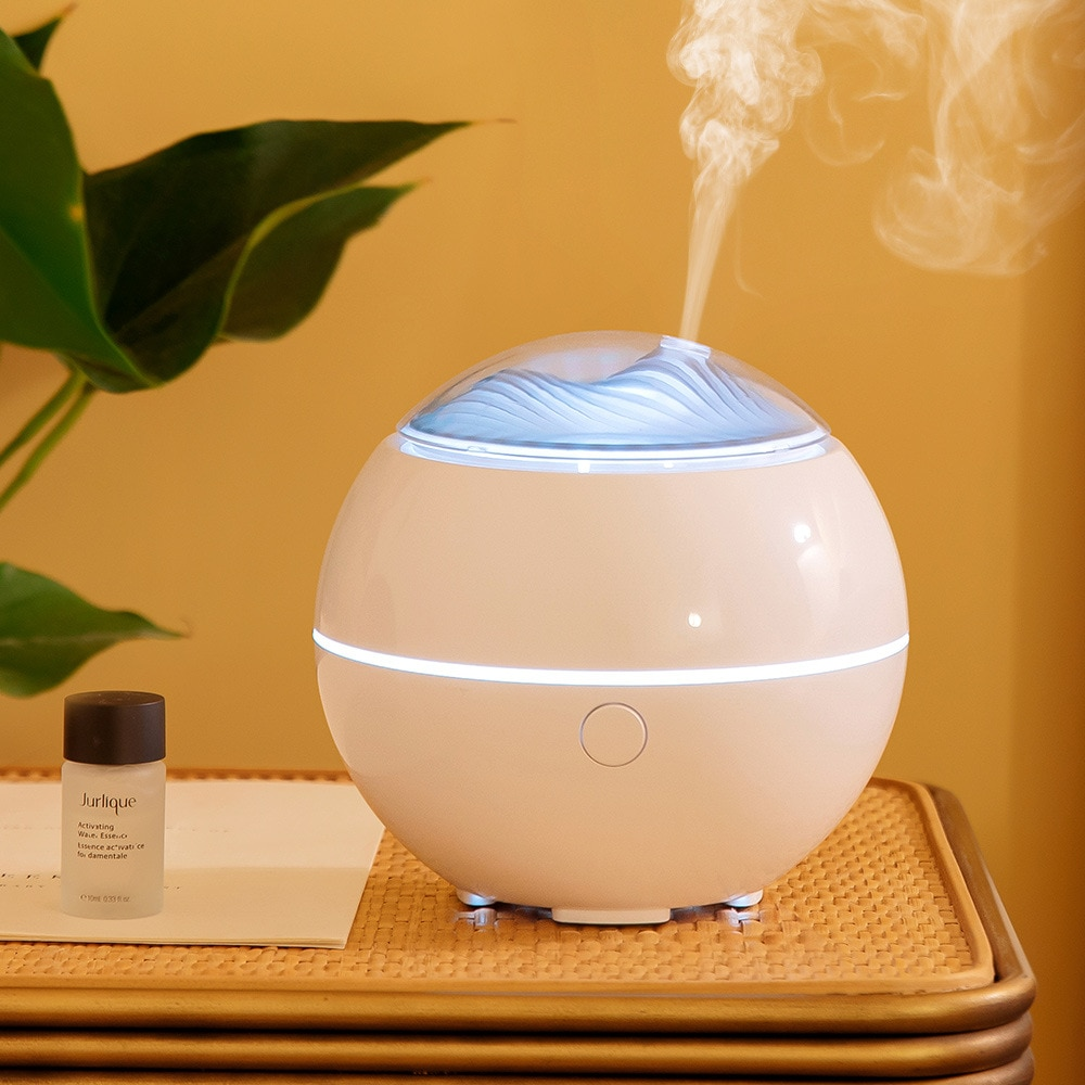 Household Electric Ultrasonic Aroma Diffuser USB Air Humidifier with LED Light Mini Desktop Aromatherapy Essential Oil Diffuser glorystar seven colors aromatherapy essential oil diffuser ultrasound atomization mini desktop humidifier household bedroom