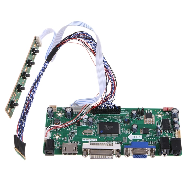 VGA DVI LCD Controller Driver Board for 1600x900 17.3 Inch LP173WD1 LP173WD