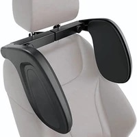 car seat headrest telescopic adjustable memory foam neck pillow cushion support head restraint travel car sleeping seat pillow
