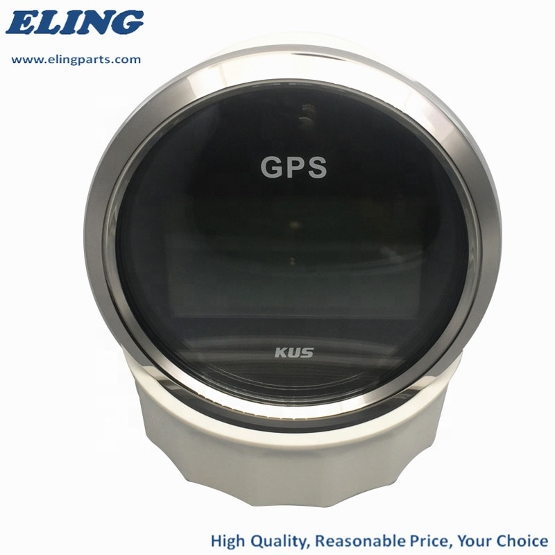 85mm Digital Speedometer COG Odometer 0-999MPH KMH Knots With 5m GPS Cable And Backlight  - buy with discount