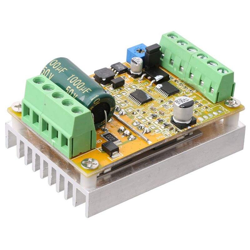Placa controladora de Motor sin escobillas de 3 fases de 380W (No/sin Sensor de Hall) placa controladora PLC BLDC PWM DC 6,5-50 V