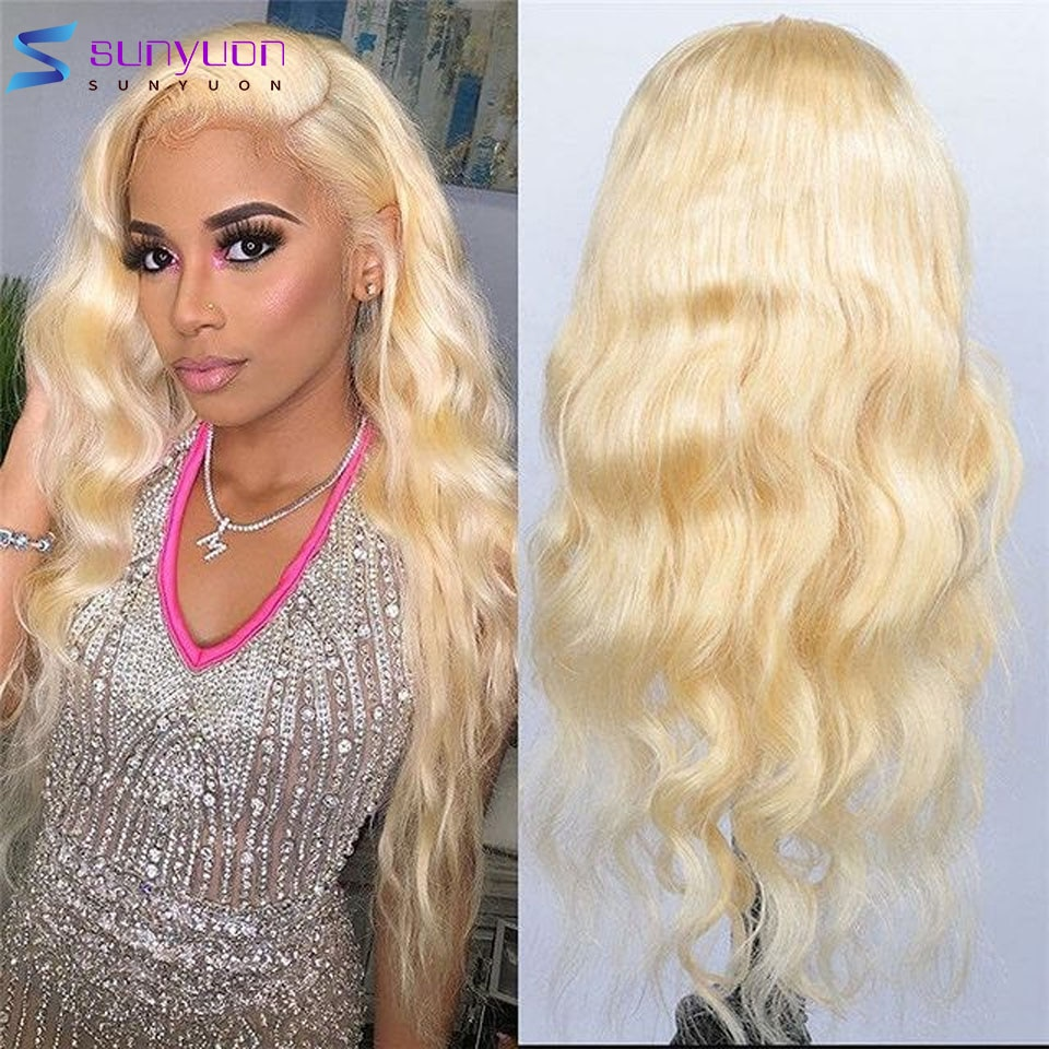 613 HD Lace Frontal Wig Body Wave 13X4 Lace Front Human Hair Wigs For Women Brazilian Remy Pre Plucked Frontal Wig