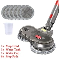 hot for dyson v7 v8 v10 v11 electric wet dry mopping replaceable partswith water tank mop head mop pads water cup