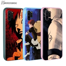 Hokage ninja Naruto sasuke Baseus Color caramelo cubierta para Samsung Galaxy Nota 10 9 8 S11 S10 S9 S8 S7 Plus borde teléfono caso