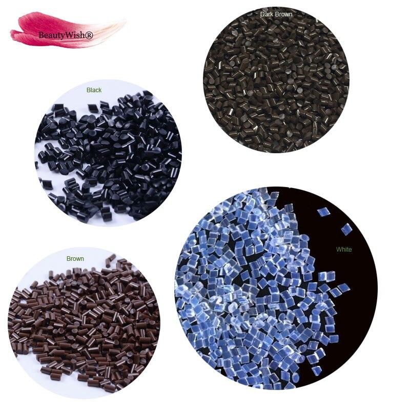 שחור/חום צבע 100% אמיתי Qulaity איטלקי קרטין תבואה 100g נוסף חזק התבואה חרוזים
