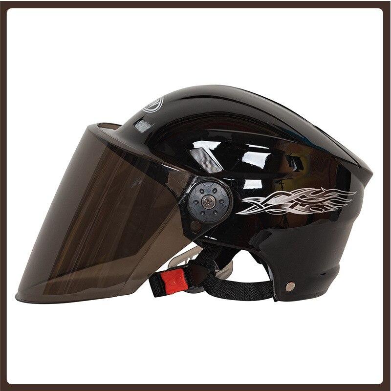 Casco deportivo Para motocicleta Para niños, accesorios Para Moto, Scooter, bicicleta de...