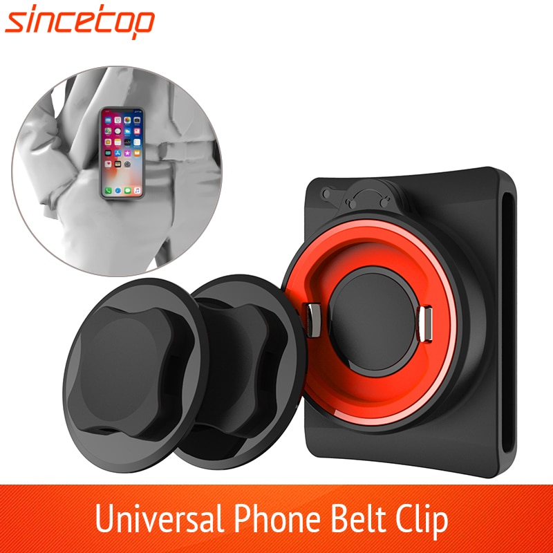 AliExpress - Universal Belt Clip Phone Holder with Quick Mount for iphone 11 pro XsMax 8 Plus 7 for Samsung Galaxy Note 8,S8 for huawei Phone