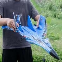 new fx 620 2 4g 2ch su 35 glider rc remote airplanes foam rtf plane uav styrofoam airplane children toys assembled flying model