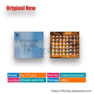 5pcs/lot Audio IC 338S00220 for iphone 7/7plus North/South Speaker Amplifier/ARC Driver IC Chip