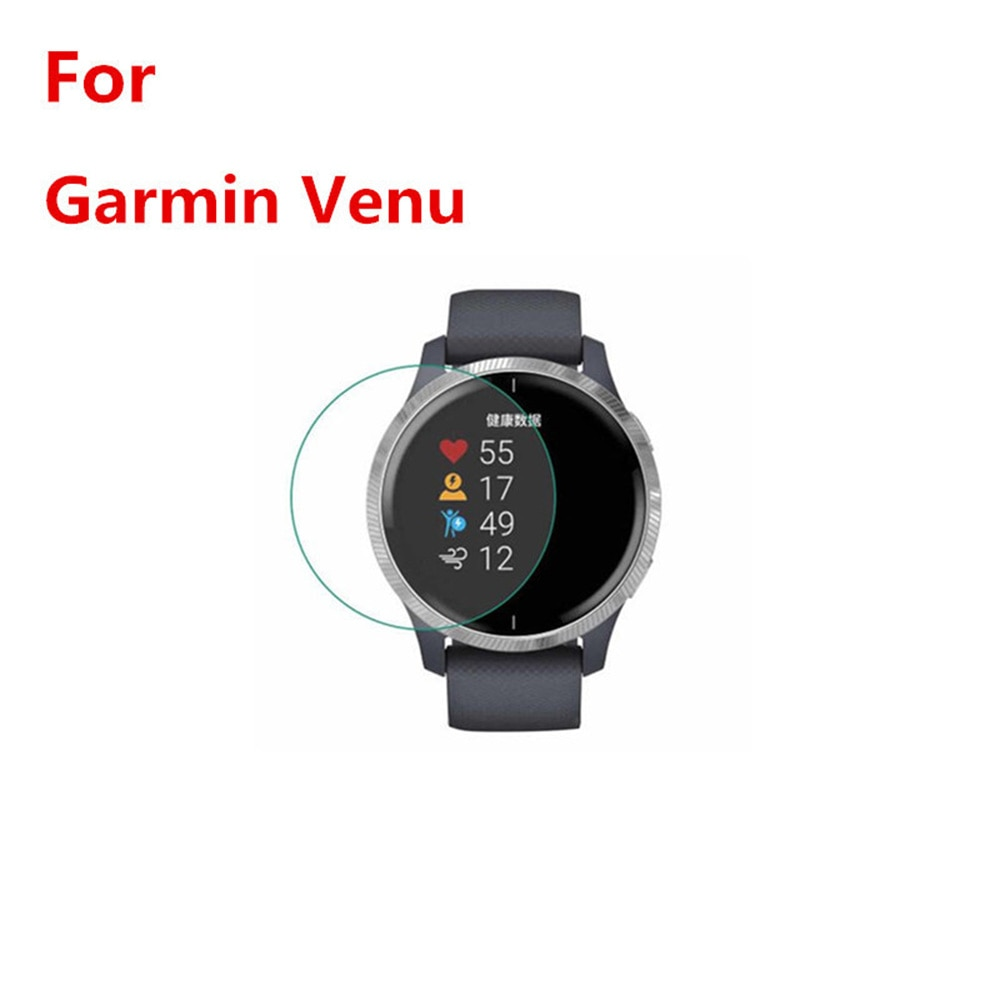 For GARMIN Venu Protective Film Sports Watch Accessories With Cleaning Kit