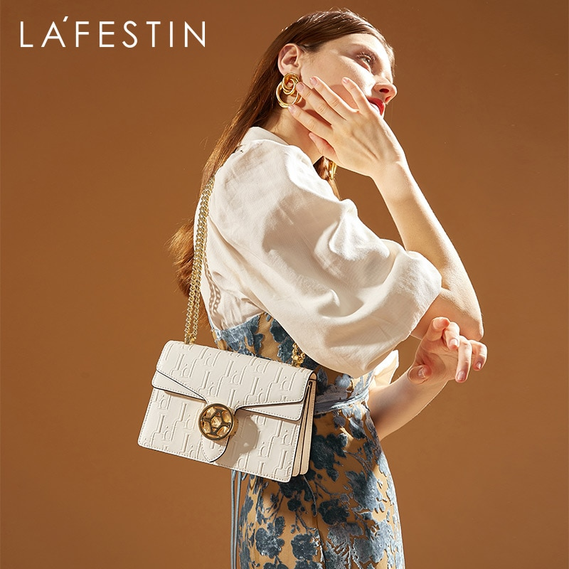 LA FESTIN Designer Classic Women Bag 2021 New Trendy Retro Luxury Shoulder Bags Chain Dionysus Handb