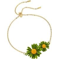 little daisy bracelet women simple mori style hipster simple fashion design girlfriends gift couples bracelet bangles for women