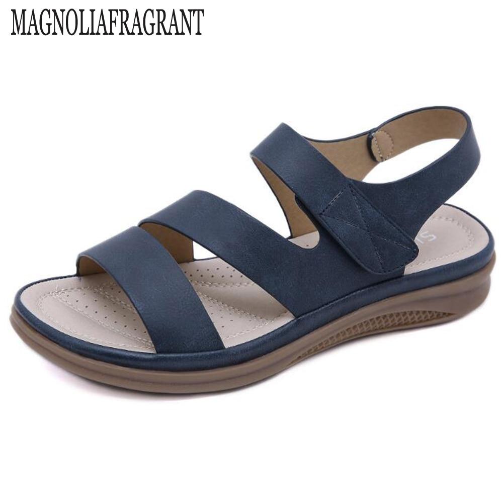 صندل نسائي صيفي ريترو ، حذاء شاطئ مريح وخفيف الوزن ، hy710 ، 2020