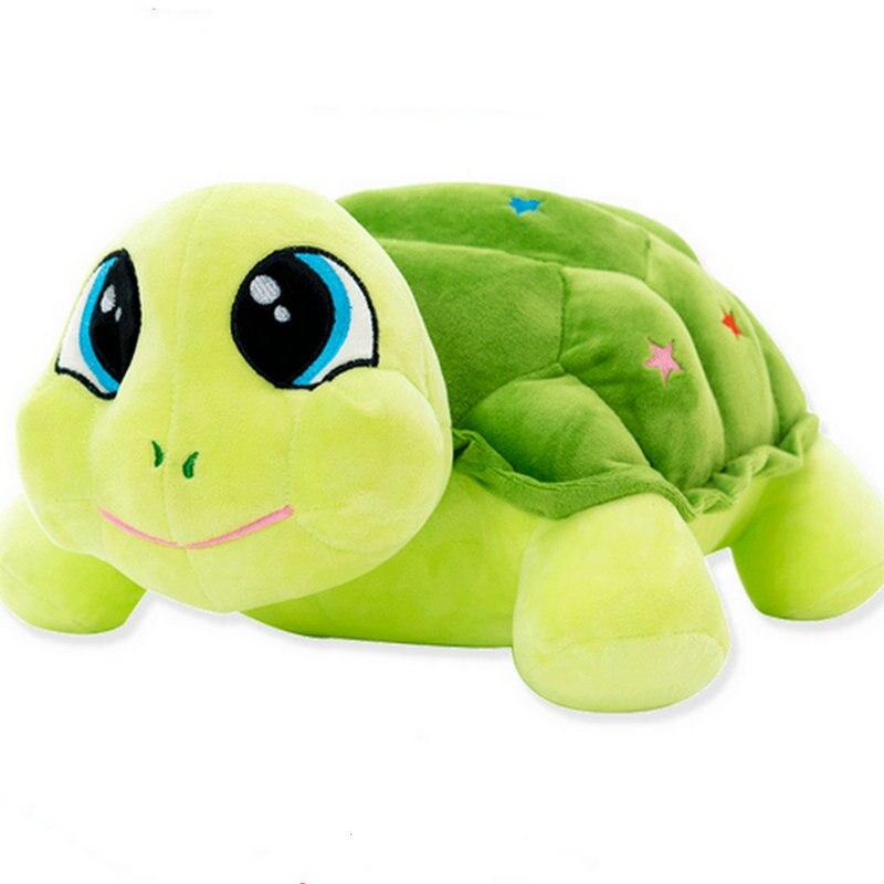 23-55cm Cartoon Turtle Dolls Pillow Cushion Stuffed Plush Animals Plush Toy Turtle Toys Cartoon Tortoise Lovely doll