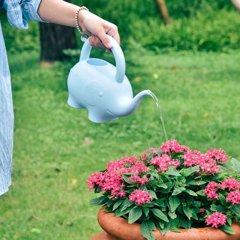 Cartoon Watering Pot, 1.5L Indoor Garden Cartoon Watering Pot