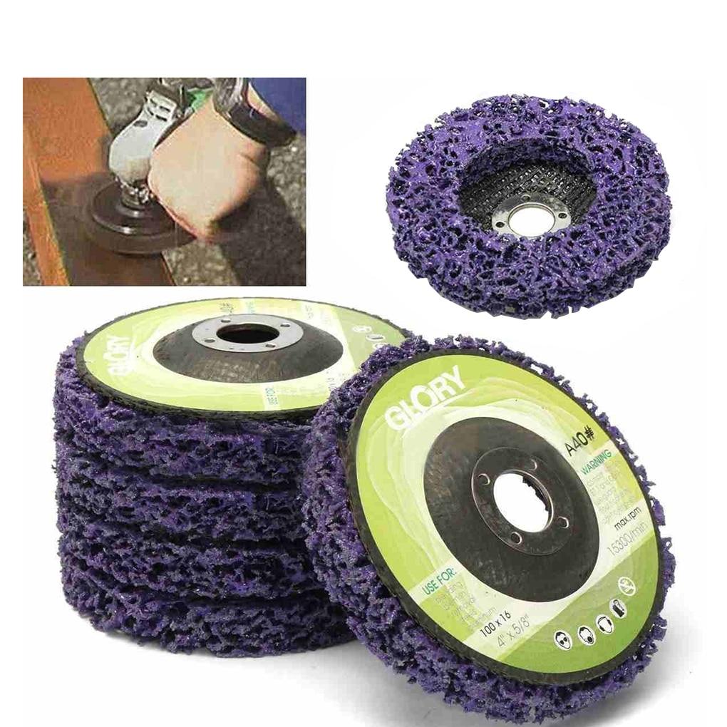 Ruota per smerigliatrice per verniciatura e rimozione della ruggine, accessori per smerigliatrice angolare 100 * 16 mm