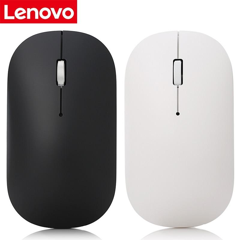 Lenovo aire 2,4G ratón inalámbrico con Blu-ray tecnología 4000DPI PAW3220 ratones de Sensor para Windows 7/8/10, Mac OS Chrome OS
