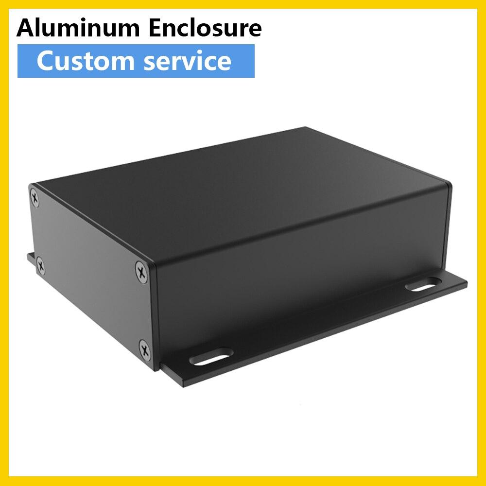 صندوق التوصيل الكهربائي المحمول ، علبة السفع الرملي ، لوحة الدائرة الكهربائية ، حاوية البطارية J17 75.8*24 مللي متر