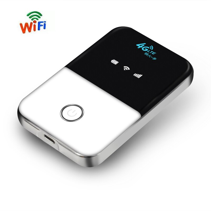 New 4G Lte Portable Wifi Router Car Mobile Wifi Hotspot Wireless Broadband Mifi Unlocked Modem Router 4G With Sim Card Slot