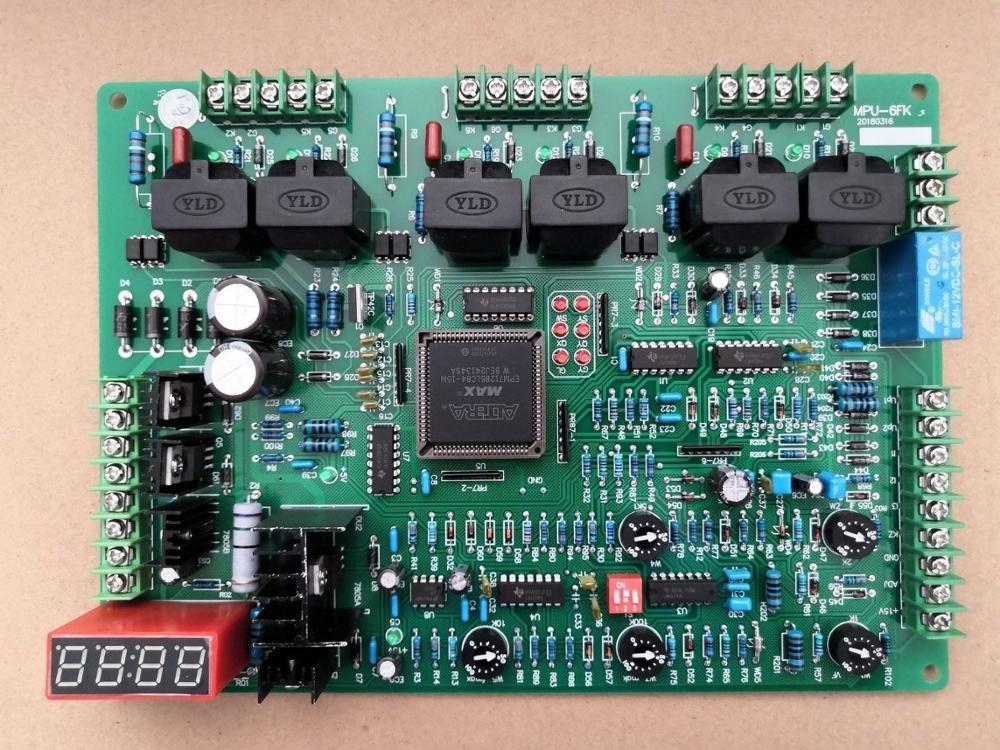 المتوسطة التردد الفرن وحة التحكم Mpu-6fk الدائرة امدادات الطاقة مجلس