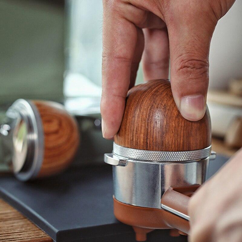MHW-3BOMBER العبث 51 مللي متر خاص ل ديلونجي الموزع أدوات باريستا ماكينة القهوة اكسسوارات البيض على شكل الفولاذ المقاوم للصدأ
