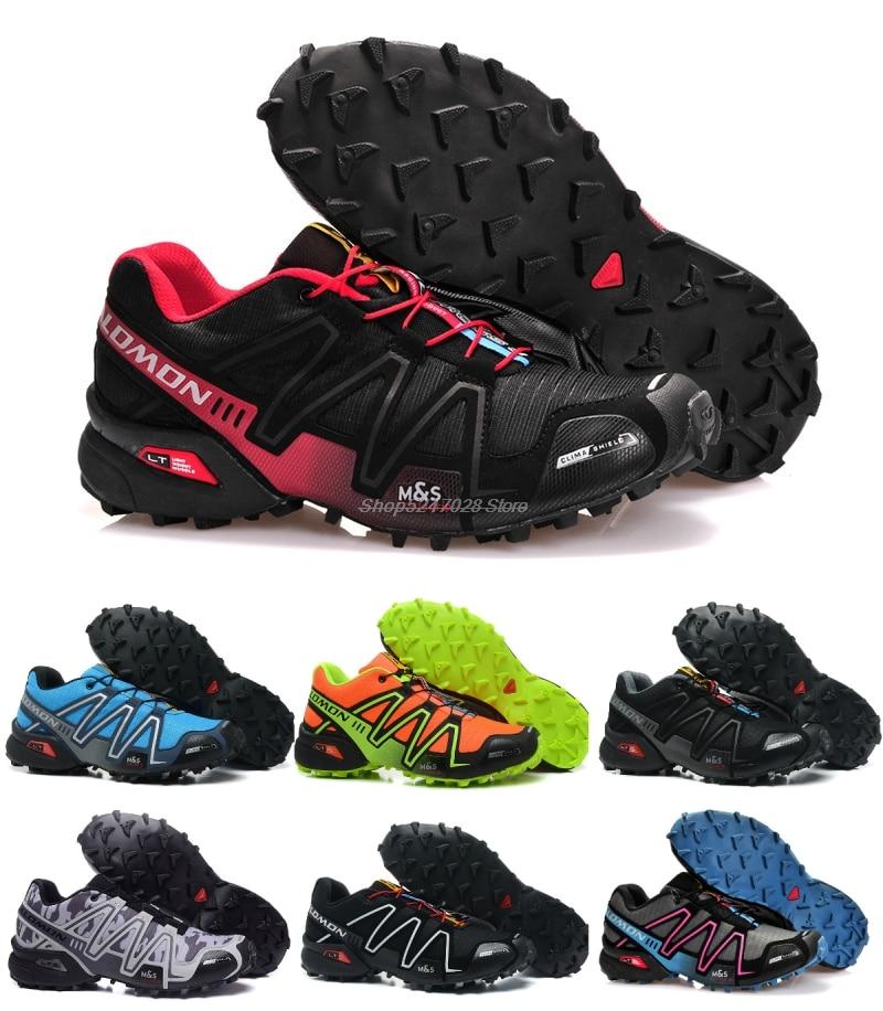 Hot Sale Salomon-Shoes Speed Cross 3 Men's Outdoor Sports Sneakers Athletic Zapatillas Comfortable M