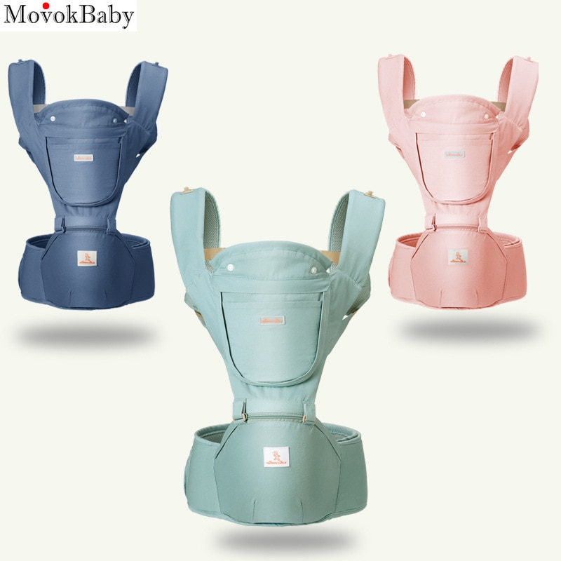 Ergonomic Baby Carrier Baby Kangaroo Child Hip Seat Tool Baby Holder Sling Wrap Backpacks Baby Travel Activity Gear DropShipping