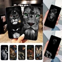 animals the lion phone case for huawei nova3i 3e mate20lite 20pro 10lite luxury funda case