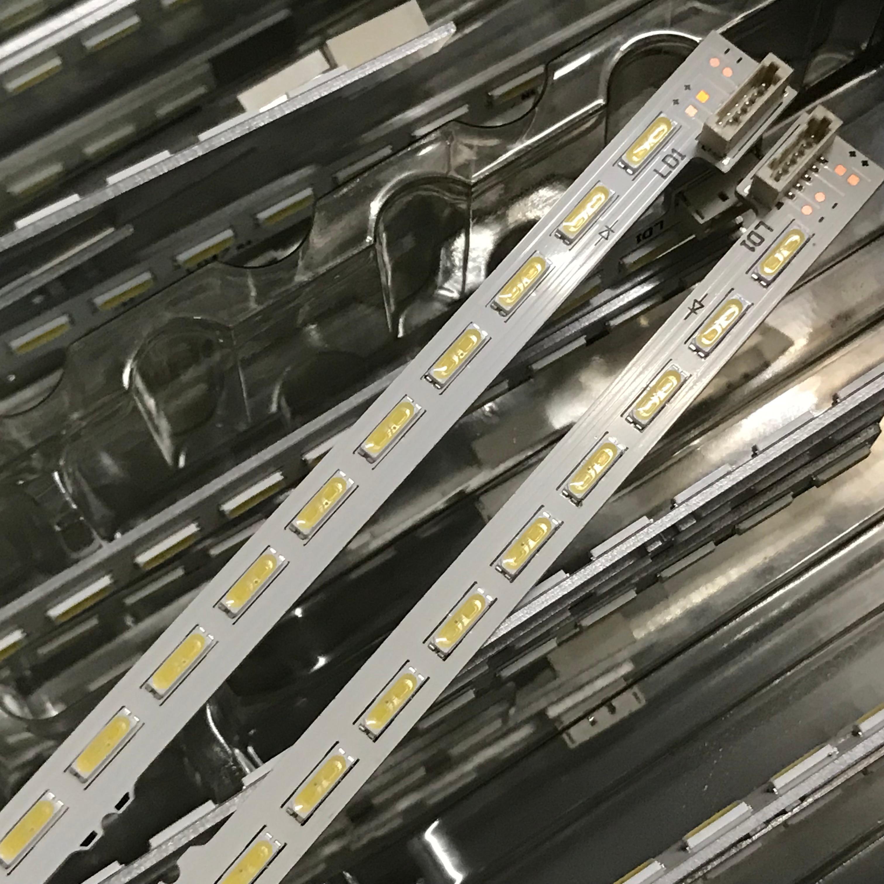 1 Conjunto = 2 uds para LG retroiluminación LED de KDL-47W805A KDL-47W802A Kdl-47W809 KDL-47W807A LC470EUF F LC470EUF-FFP2 LC470EUF-(FF) (P2)