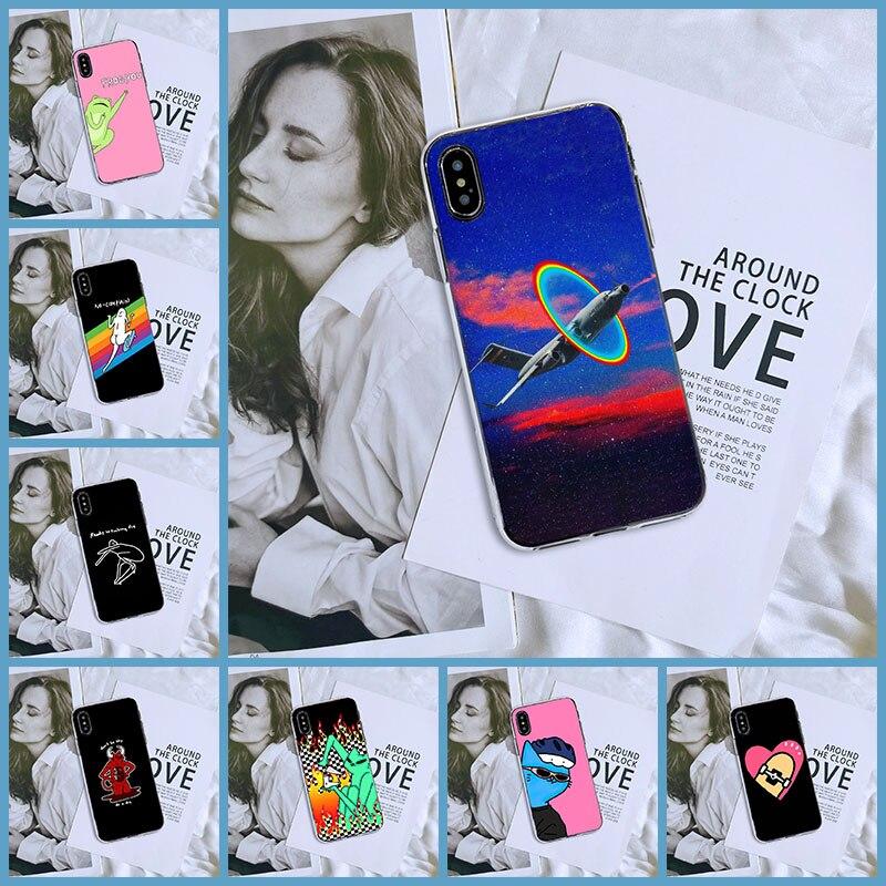 Gato engraçado sapo coração caso de telefone para apple iphone 6 s 6 s 7 8 x xr xs max silicone macio capa traseira para iphone 6 s 6 s 7 8 plus