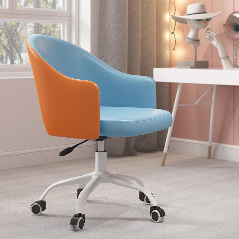 madeira buttoned mid century modern dark teal fabric club chair Dining Chair Home Light Luxury Fabric Makeup Chair Modern Casual Restaurant Desk Chair Backrest