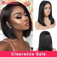 13x4 lace front wigs short bob wigs 4x4 lace closure human wigs brazilian straight human hair wigs lace frontal human hair wigs