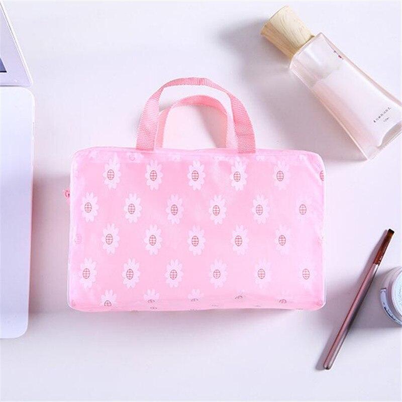 Frauen Reise Kosmetik Organizer Blume Taschen Wasserdichte Bad Waschen Taschen Lagerung Tasche für Shampoo Bade Make-Up-Tool