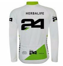 Herbalife 24 ciclismo jerseys mountain bike manga longa roupas esportivas viagem completa mondiale bicicleta longa
