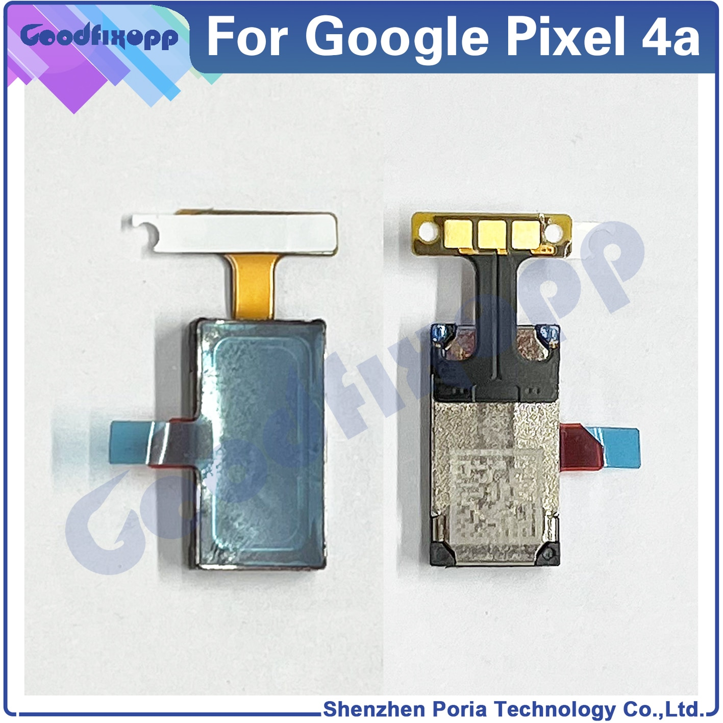 100% High Quality Testing For Google Pixel 4A 4G 5G Front Top Earpiece Ear Sound Speaker Flex Cable Receiver