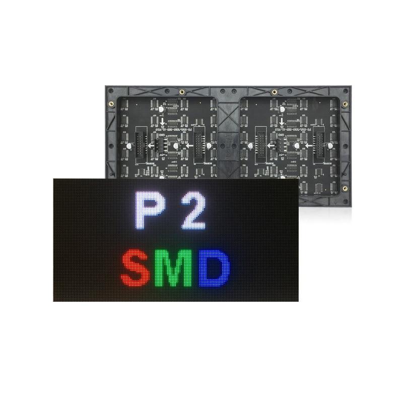 Módulo de pantalla Flexible Led P2 de alta resolución, pantalla Led para pared de escenario, juego de fútbol, pantalla led