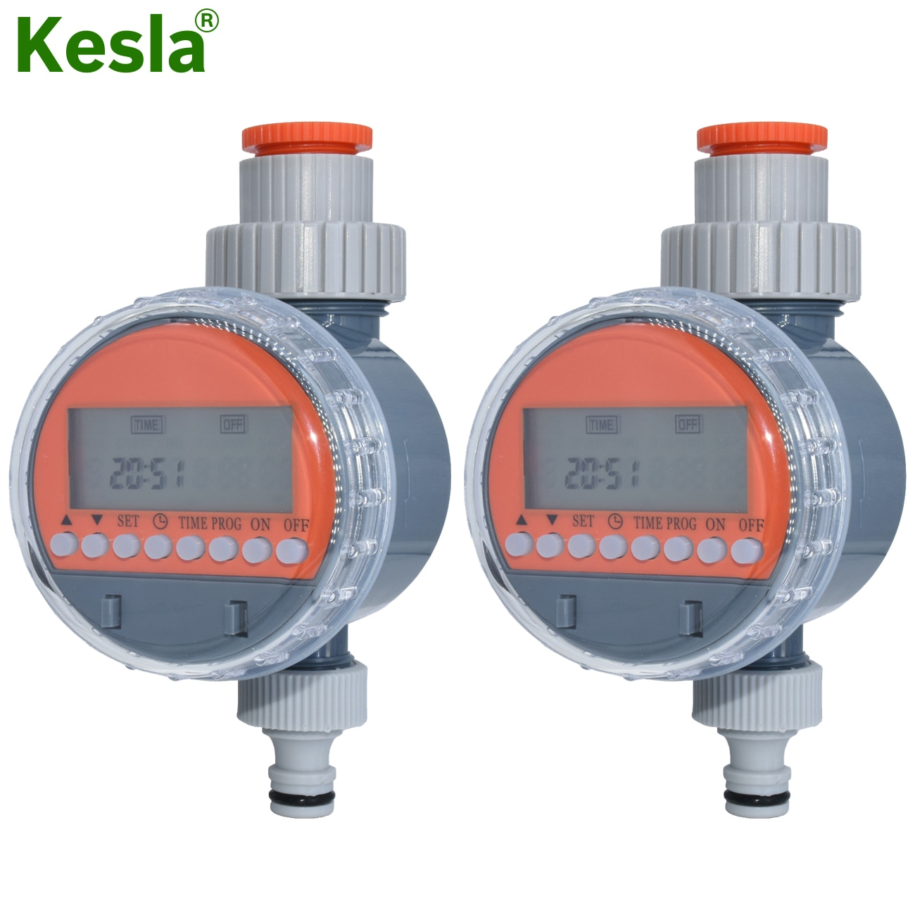 KESLA حديقة الري الكرة صمام مؤقت مياه LCD التلقائي الإلكترونية الري المنزل نظام مراقبة الري الدفيئة