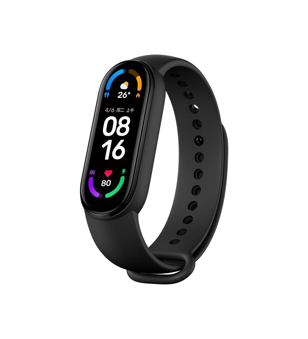 Rastreador de Fitness Dias de Espera Original Xiaomi Banda Esporte Pulseira Freqüência Cardíaca Bluetooth 1.56 Tela Amoled 14 Multi-cor mi 6