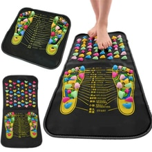 Acupuncture Cobblestone Foot Massage Cushion Acupoint Physical Massage Foot Spa Pad Pain Relief Heal